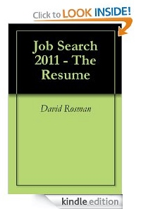 Resume Book Cover